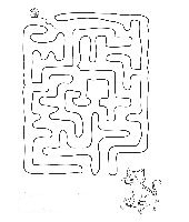 free coloring pages Labyrinths