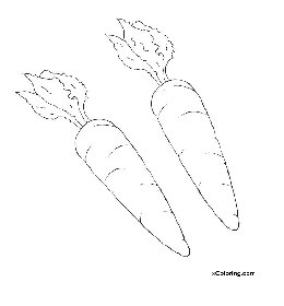 free coloring pages Carrots