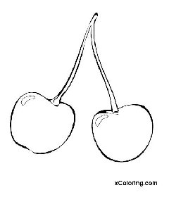 free coloring pages Cherry