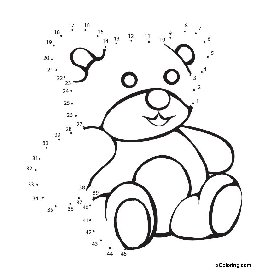 Teddy Bear Printable Coloring Pages Teddy Bear