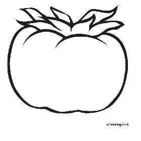 free coloring pages Tomato